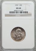 Washington Quarters, 1957 25C MS68 NGC....