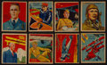 "Non-Sport Cards:Singles (Pre-1950), 1933/34 R136 National Chicle ""Sky Birds"" Partial Set (73/108). ..."