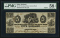 Obsoletes By State:Ohio, Kirtland, OH- Kirtland Safety Society Bank $5 Feb. 10, 1837 G8 Rust7 Wolka 1424-10. ...