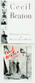 Books:Photography, [Photography]. Pair of Books about Cecil Beaton. Various publishers and dates.... (Total: 2 Items)
