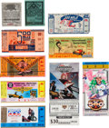 Miscellaneous Collectibles:General, 1920s-2000s Indianapolis 500, Time Trials, Etc. Ticket Stubs Lot of100+....