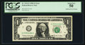 Fr. 1914-G $1 1988 Federal Reserve Note. PCGS About New 50