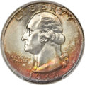 Washington Quarters, 1945 25C MS67+ PCGS. CAC....