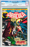 Bronze Age (1970-1979):Horror, Tomb of Dracula #10 (Marvel, 1973) CGC VF+ 8.5 Off-white pages....