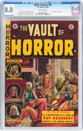 Golden Age (1938-1955):Horror, Vault of Horror #29 (EC, 1953) CGC VF 8.0 Off-white pages....