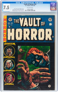 Golden Age (1938-1955):Horror, Vault of Horror #34 (EC, 1954) CGC VF- 7.5 Off-white pages....