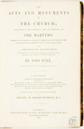 Books:Religion & Theology, [Religion and Theology]. John Foxe. The Acts and Monuments of the Church; Containing the History and Sufferings of the M...