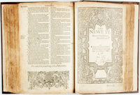 [Holy Bible]. [Bishop's Bible]. The Holy Bible, Conteining the Olde Testament and the Newe; of that Translation to be Re...