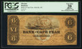 Obsoletes By State:North Carolina, Wilmington, NC- Bank of Cape Fear $6 Oct. 1, 1858 G191b. ...