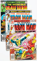 Modern Age (1980-Present):Superhero, Iron Man Box Lot (Marvel, 1978-96) Condition: Average FN....