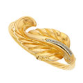 Estate Jewelry:Bracelets, Diamond, Gold Bracelet, Graziella. ...