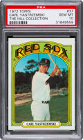 Baseball Cards:Singles (1970-Now), 1972 Topps Carl Yastrzemski #37 PSA Gem Mint 10....