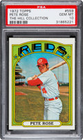 Baseball Cards:Singles (1970-Now), 1972 Topps Pete Rose #559 PSA Gem Mint 10....