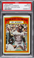 Baseball Cards:Singles (1970-Now), 1972 Topps Roberto Clemente IA #310 PSA Gem Mint 10....