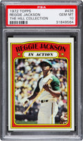 Baseball Cards:Singles (1970-Now), 1972 Topps Reggie Jackson IA #436 PSA Gem Mint 10....