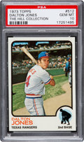 Baseball Cards:Singles (1970-Now), 1973 Topps Dalton Jones #512 PSA Gem Mint 10 - Pop One....