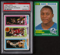 Basketball Cards:Lots, 1980 Topps Bird/Magic Rookie and 1989 Score Barry Sanders Rookie(2). ...