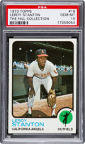 Baseball Cards:Singles (1970-Now), 1973 Topps Leroy Stanton #18 PSA Gem Mint 10 - Pop One....