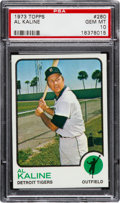 Baseball Cards:Singles (1970-Now), 1973 Topps Al Kaline #280 PSA Gem Mint 10....