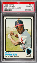 Baseball Cards:Singles (1970-Now), 1973 Topps Billy Parker #354 PSA Gem Mint 10 - Pop One....