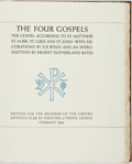 Books:Religion & Theology, E. R. Weiss, design and decorations. SIGNED/LIMITED. The Four Gospels: The Gospel According to St. Matthew, St. Mark, St...