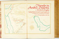 Books:Travels & Voyages, Charles M. Doughty. LIMITED. Travels in Arabia Deserta. New York: The Limited Editions Club, 1953. Limited to 1500 n...
