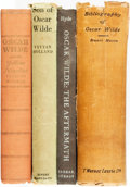 Books:Reference & Bibliography, [Biography/Bibliography]. Group of Four about Oscar Wilde. Variouspublishers and dates.... (Total: 4 Items)