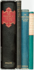 Books:Literature Pre-1900, Oscar Wilde. Group of Four Titles. Various publishers and dates....(Total: 4 Items)