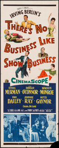 "Movie Posters:Musical, There's No Business Like Show Business (20th Century Fox, 1954).Insert (14"" X 36""). Musical.. ..."