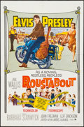 "Movie Posters:Elvis Presley, Roustabout (Paramount, 1964). One Sheet (27"" X 41""), Lobby Card(11"" X 14""), and Cut Pressbook (12 Pages, 12.25"" X 15""). Elv...(Total: 3 Items)"