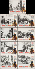 """Movie Posters:Exploitation, Born Losers (American International, R-1974). Lobby Card Set of 8, Lobby Card (11"""" X 14"""") & Uncut Pressbook (4 Pages, 11.5"""" ... (Total: 10 Items)"""