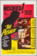 "Movie Posters:Exploitation, The Pusher (United Artists, 1960). One Sheet (27"" X 41"") & Title Lobby Card (11"" X 14""). Exploitation.. ... (Total: 2 Items)"