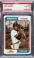 Baseball Cards:Singles (1970-Now), 1974 Topps Rod Carew #50 PSA Gem Mint 10....