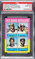 Baseball Cards:Singles (1970-Now), 1975 Topps Mini Rookie Outfielders Jim Rice #616 PSA Gem Mint10....