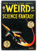 Golden Age (1938-1955):Science Fiction, Weird Science-Fantasy Annual #2 (EC, 1953) Condition: FN....