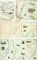 Books:Maps & Atlases, [Maps]. Group of Seven Maps. Various publisher's and dates. ...