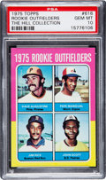 Baseball Cards:Singles (1970-Now), 1975 Topps Rookie Outfielders Jim Rice #616 PSA Gem Mint 10 - Pop Three....