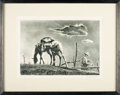 Books:Prints & Leaves, Georges Schreiber. SIGNED/LIMITED. Framed Limited EditionLithograph Print Entitled, Mare and Colt. New York: As...