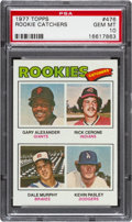 Baseball Cards:Singles (1970-Now), 1977 Topps Rookie Catchers Dale Murphy #476 PSA Gem Mint 10....