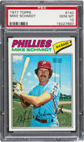 Baseball Cards:Singles (1970-Now), 1977 Topps Mike Schmidt #140 PSA Gem Mint 10....