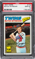 Baseball Cards:Singles (1970-Now), 1977 Topps Butch Wynegar #175 PSA Gem Mint 10 - Pop Four....