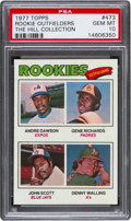 Baseball Cards:Singles (1970-Now), 1977 Topps Rookie Outfielders Andre Dawson #473 PSA Gem Mint 10....