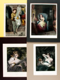 Books:Prints & Leaves, Group of Four Engraved Plates with Hand-Coloring. London: Virtue& Co. [n.d., circa 1870]. ...