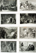 Books:Prints & Leaves, [Engraved Prints]. Group of Nineteen Engraved Plates. Variouspublishers, circa 1850. ...