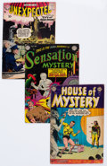 Golden Age (1938-1955):Horror, DC Golden To Silver Age Horror Group of 4 (DC, 1952-58) Condition:Average VG.... (Total: 4 Comic Books)