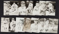 Baseball Collectibles:Others, Baseball Greats Real Photo Postcards Lot of 86....
