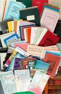 Books:Books about Books, [Books about Books]. Large Lot of Approximately 180 Rare Book Catalogs. Various publishers and dates. ...