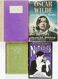 Books:Biography & Memoir, [Biography/History]. Group of Four Titles about Late VictorianWriters. Various publishers and dates.... (Total: 4 Items)