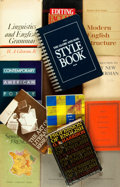 Books:Reference & Bibliography, [Language Studies]. Group of Fourteen Books. Various publishers anddates. ... (Total: 14 Items)