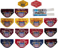Miscellaneous Collectibles:General, 1968-85 USAC Race Worn Armbands Lot of 17...
